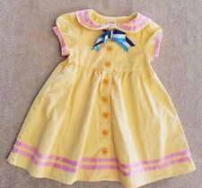 ADORABLE! GYMBOREE 12-18 MONTH YELLOW SAILOR DRESS