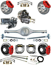 NEW SUSPENSION & WILWOOD BRAKE SET,CURRIE REAR END,POSI-TRAC GEAR,BOOSTER,677014