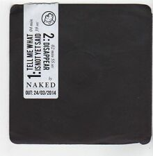 (EZ941) Naked, Tell Me What Is Not Yet Said - 2014 DJ CD