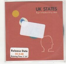 (FO688) UK States, Eyes In The Back Of Your Head - 2008 DJ CD