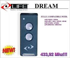 Life DREAM remote control 433,92Mhz. New version of Life FIDO, VIP, STAR, BRAVO