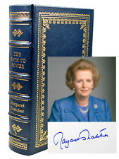 Easton Press Margaret Thatcher PATH TO POWER Signed Limited Leather Bound #81