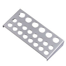 Stainless Steel Tattoo Ink Cup Holder for 22 caps Stand Machine Supply EW