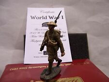 BRITAINS SOLDIERS WW1 2013 CLUB FIGURE 50039C 1916 BRITISH INFANTRY MARCHING