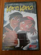 KARE KANO CAPITULOS 1-5 DVD MANGA JONU MEDIA NEW SEALED NUEVO PRECINTADO