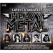 Various - Latest & Greatest Heavy Metal (2014)  3CD Box Set  NEW  SPEEDYPOST