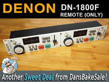 Denon DN-1800F - REMOTE CONTROL ONLY- for Dual CD Player - Tested, Works