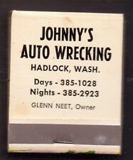 JOHNNY'S AUTO WRECKING-YUN BEEN SAMPLIN' MY LIKKER AGAIN-ONE 1/2 INCHES WIDTH