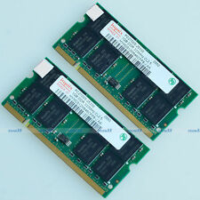 Hynix 2GB 2x1GB PC2700 DDR333 333Mhz 200pin DDR SODIMM Laptop Memory Module NEW