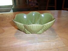 Shawnee USA Planter/Flower Pot Green Shell Design