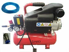 Zogo Air Compressor 50l with PCF-802 Connector and 5 meters pipe & Air gun