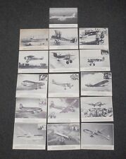 16 UNITED AIRLINES prints photos Tri-Motor  Swallow Curtis Falcon Stratocruiser