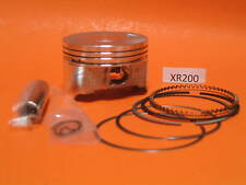 Piston 65.5 +0.50 mm Rings Wrist Pin Clips  Honda XR 200 Compression Height 22mm