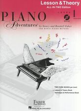 Piano Adventures All In Two Level 1 Lesson & Theory Learn to Play Music Book &CD