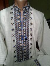 Ukrainian embroidery, embroidered shirt, men, XS - 3XL, Ukraine