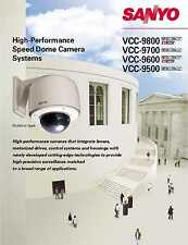 Sanyo 30x Optical Zoom VCC-MC500 Day/Night Dome Camera NICE! NEW!