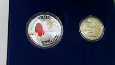 Malaysia World Team Table Tennis Championships Proof coin Set 2 Silver SN0074