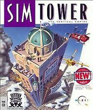 SIM TOWER The Vertical Empire PC Game CD-ROM Windows 3.1