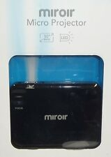 Miroir Micro 360p DLP Pico Projector MP30 Black Brand New Sealed