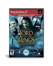 Ps2 Game Lord Of The Rings The Two Towers PlayStation2