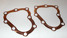 "Harley 45"" Flathead WL G Copper Head Gasket Set of 2 1939 -73 HD# 16769-39C (132"