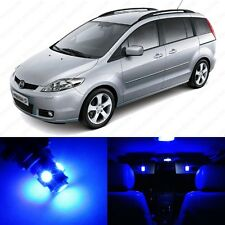 8 x Ultra Blue LED Interior Lights Package For 2006 - 2010 Mazda 5