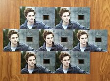 Special Offer 7x Twilight Robert Pattinson Limited Edition Collectible Film Cell