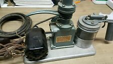 ATLAS PAINT SPRAYER VINTAGE RARE MODEL 1500 K J MILLER CORP AIR BRUSH COMPRESSOR