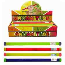 1 Groan Tube Musical Noise Noisy Sticks Giggle Stick Plastic Instrument Neon Toy