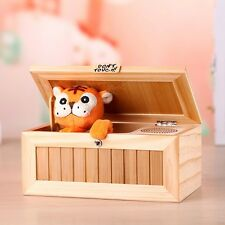 US Useless Box Leave Me Alone Box Wooden Most Machine Don't Touch Tiger Toy Gift