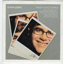 (FI575) Elton John, West Coast Songs - 2001 Daily Express CD
