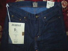 $290 PRPS Jeans Mens Dark Blue Denim Size 28/32 Authentic Rambler Skinny Fit