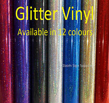 BUY 2 GET 1 FREE GLITTER EFFECT SELF ADHESIVE SIGN VINYL STICKY BACK PLASTIC