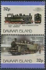 1923 DRG Class 97.5 / Wurttemberg Class Hz 0-10-0T Rack Train Stamps (Davaar)