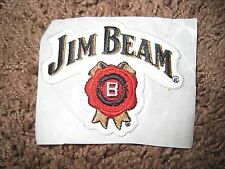 New JEAM BEAM Bourbon Embroidered Patch