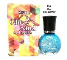 Mistine Glitzy Sand Nail Polish # 56 Blue Summer 1 Piece 5.5ml