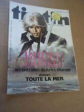 """MAGAZINE """"TINTIN, no 205"""" (1979) LES ARCHIVES DE MOULINSART...."""