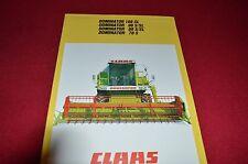 Claas 108SL 98S 98SL 88S 88SL 78S Dominator Combine Dealer's Brochure LCOH