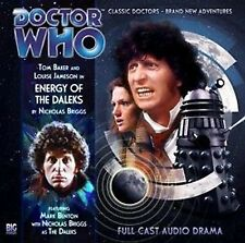 DOCTOR WHO Big Finish Audio CD Tom Baker 4th Doctor #1.4 ENERGY OF THE DALEKS