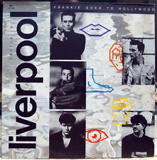"Frankie Goes To Hollywood ‎""Liverpool"" RARE 1986 MEXICO LP"