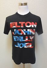 ELTON JOHN & BILLY JOE MENS SHIRT SZ L LARGE BLACK SS