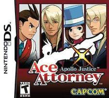 Apollo Justice: Ace Attorney [Nintendo DS DSi, Visual Novel, Phoenix Wright] NEW