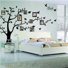 3D Photo Frame Tree Wallpaper Picture Black Tree Wall Stickers Home Bar Decor
