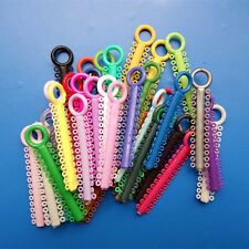 Dental Orthodontic Ligature ties Elastic rubber Bands Braces Multi Color Rings