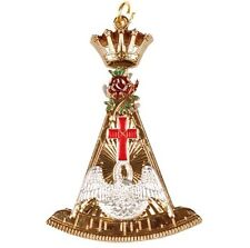 Rose Croix 18 Degree Collar Jewel (high Quality Brand New)