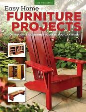 EASY HOME FURNITURE PROJECTS -  (PAPERBACK) NEW
