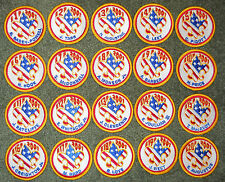 2001 National Boy Scout Jamboree Complete Set of 20 Subcamp Patches MINT! Jambo