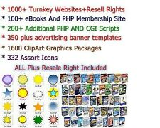 EBAY BUSINESS - 1000+ TURNKEY WEBSITES FOR SALE WITH RESELL RIGHTS