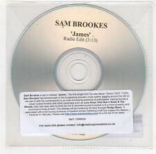(GG955) Sam Brookes, James - 2014 DJ CD