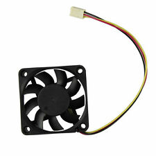 60 x 60 x 15 mm 3 Pin 12 V caja de la computadora refrigerador ventilador de PC